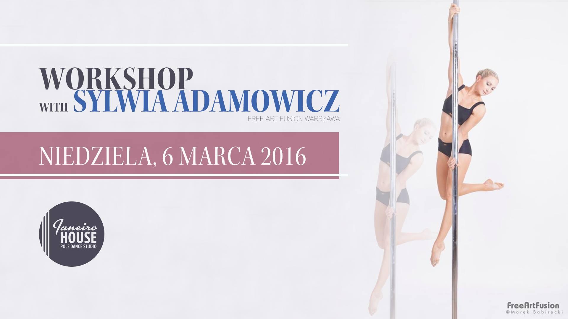 workshop with Sylwia Adamowicz | Warsztaty Pole Dance z Sylwią Adamowicz