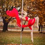 Plener! Jesienna sesja zdjęciowa Pole Dance z Janeiro House