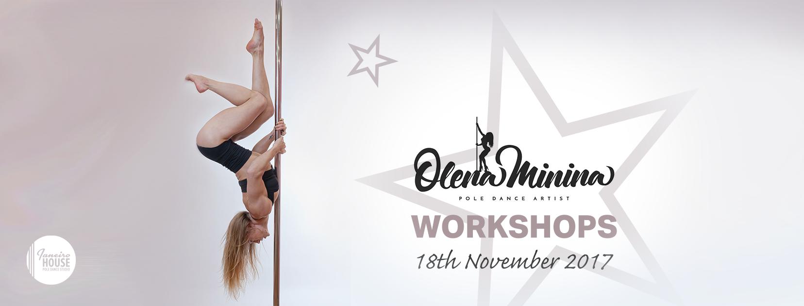 Workshops with Olena Minina
